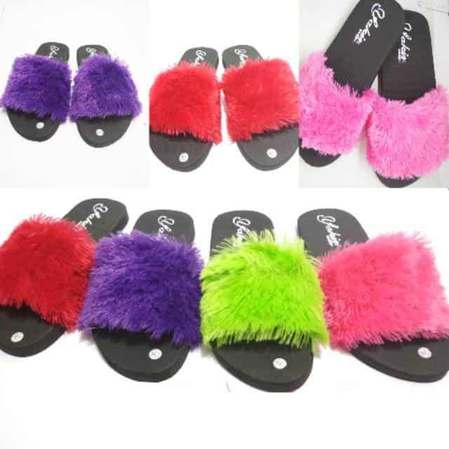 Family Pack Sandal Bulu (4)